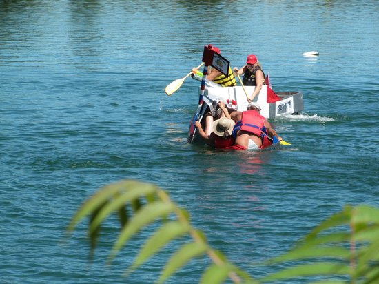 Windmill Point Park & Campground : Windmill is the host of an annual Card Board Boat Race