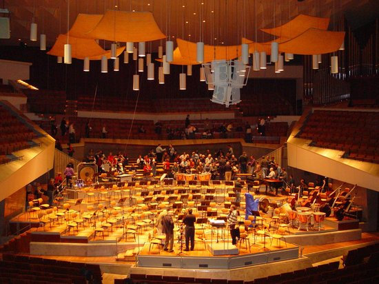 interior picture of berlin philharmonic berlin. Black Bedroom Furniture Sets. Home Design Ideas