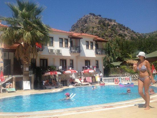 Karbel Beach Hotel: Pool View