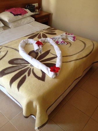 Karbel Beach Hotel: Love Heart and Crab