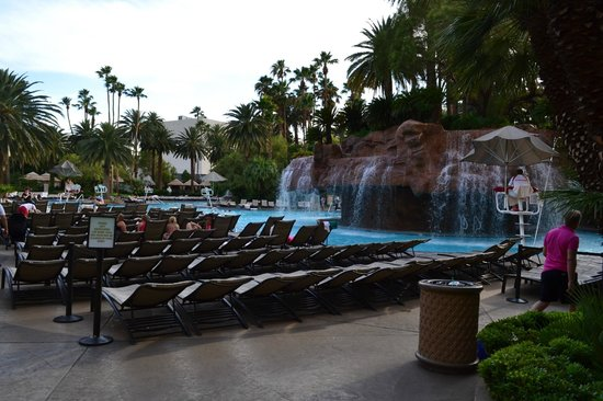 The Mirage Hotel & Casino: Piscine