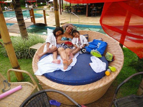 Descanso Na Rea Da Piscina Picture Of Tuti Resort