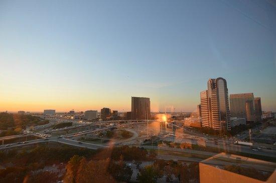 Hilton Dallas Lincoln Centre: View from our room