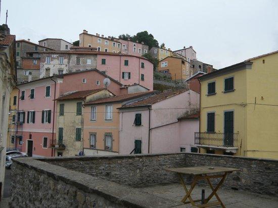 La Campana d'Oro: View from the balcony