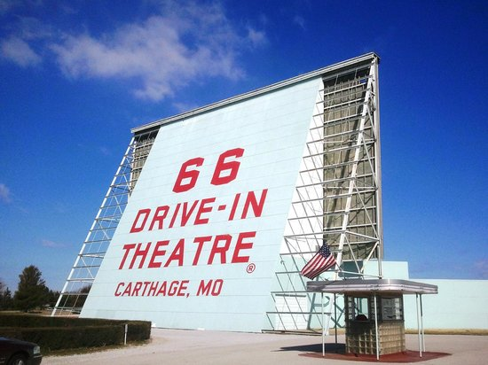 66 Drive-In Theatre: Entrance sign