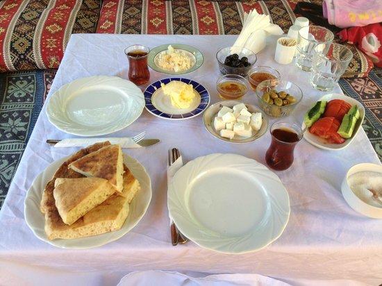 Kas Doga Park : Mükemmel organik kahvaltı