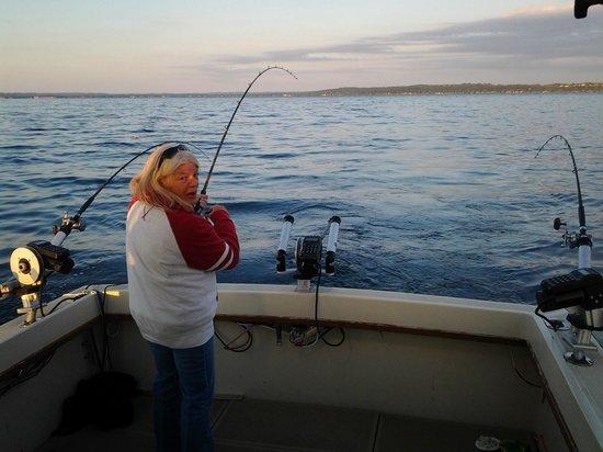 Traverse city fishing charters daydreamer fishing autos post for Traverse city fishing charters