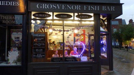 Grosvenor Fish Bar: Tasty fish supper!