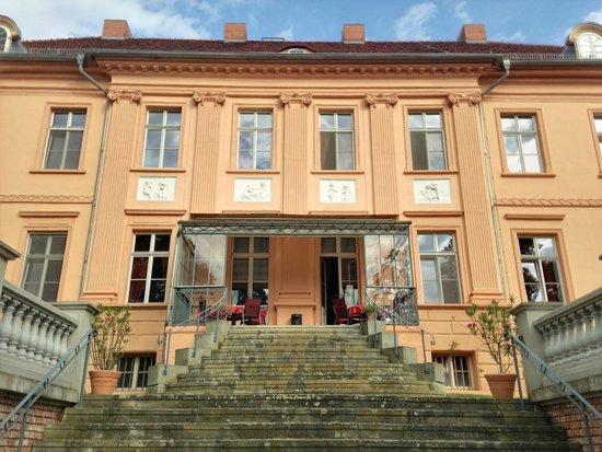 Schlosshotel Ruehstaedt: Terrace