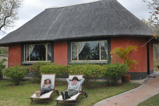 Mohlabetsi Safari Lodge: Bungalow familiaux