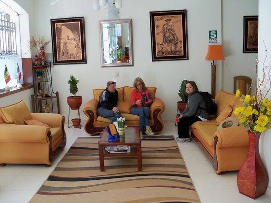 Sol Plaza Hotel Puno : Como en casa!!