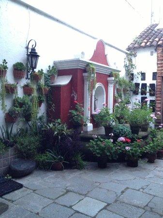 La Villa Serena: interior garden