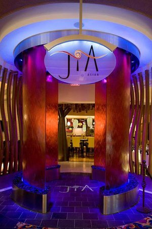 Jia's entrance