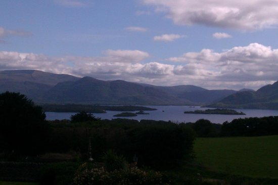 Aghadoe Heights Hotel & Spa: View from our balcony on Tuesday 27th about 5pm