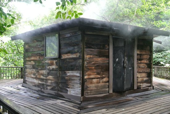Hotel Borinquen Mountain Resort: The steam room
