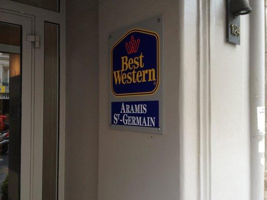 Best Western Aramis Saint-Germain : Aramis St Germain