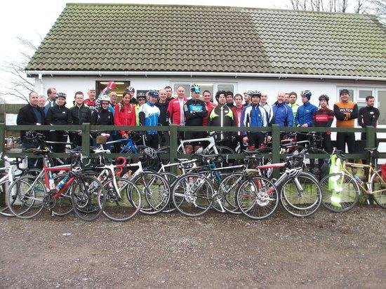 Follys End Farm Cafe: north bristol cycle club