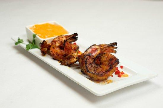 Irises Cafe and Wine Bar : Cajun Grilled Shrimp