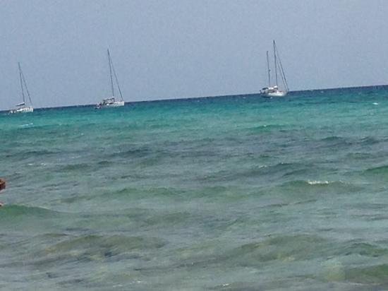 Playa de Migjorn: che colori