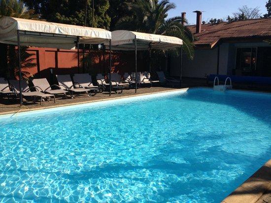 Le Relais des Plateaux: The pool area