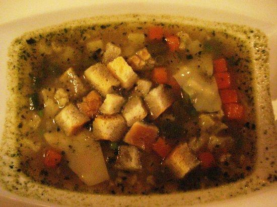 The Village Cucina Italiana: minestrone soup