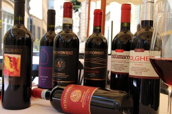 Gli Orti di via Elisa : alcuni vini