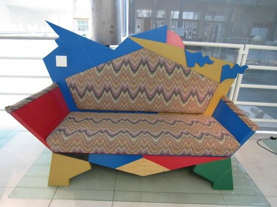 Postmodern couch picture of design museum gent ghent for Gent design