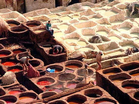 The a la Menthe: Maroc fes.
