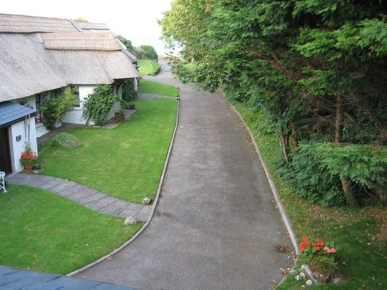 The Cottages: View from one of bedrooms in Apple Loft Cottage