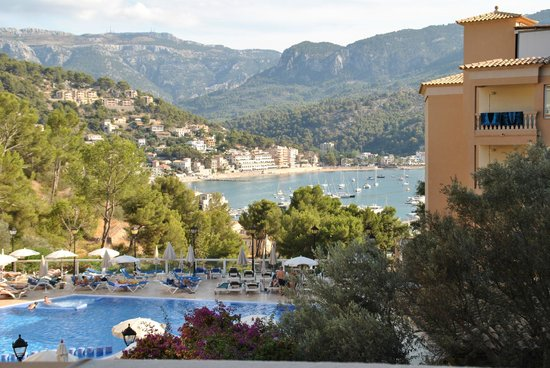 SENTIDO Porto Soller: View from room 325