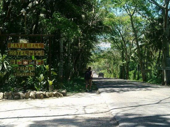 Mayabell: El camino hacia zona Arqueológica