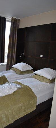 The Square Copenhagen : camera da letto