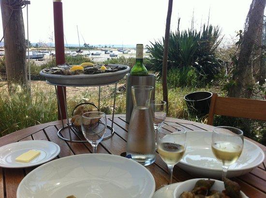 Cap-Ferret, France : Au dejeuner