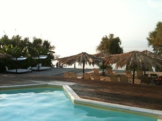 Caposaldo Apartments: Θέα από πισίνα