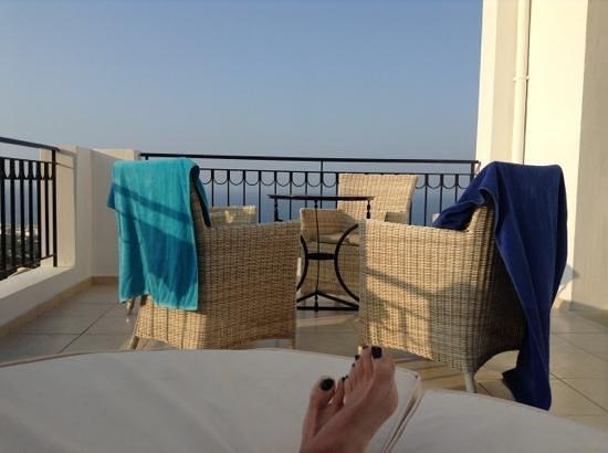 Creta Blue Suites : private roof terrace