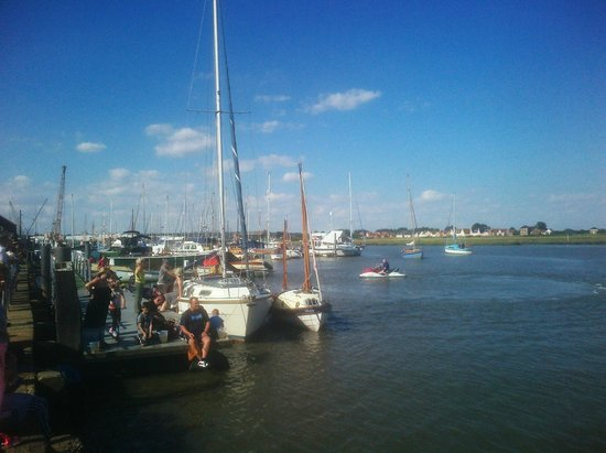 jolly sailor: View from the Pub