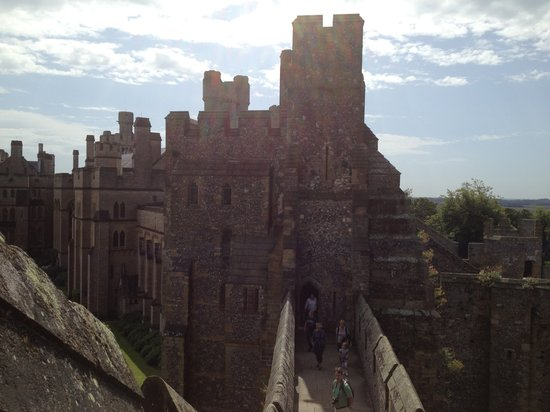 Manor House: Arundel Castle - taken from The Keep