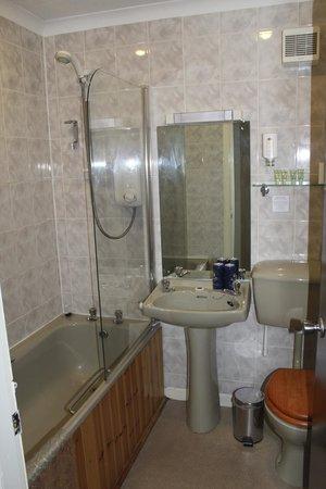 Drumnadrochit Hotel: Avocado Bathroom Fixtures - dated but functional