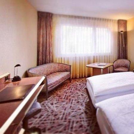 Au Parc Hotel Fribourg: chambre double