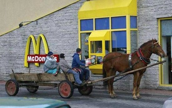 McDonald's: Would have been quicker!