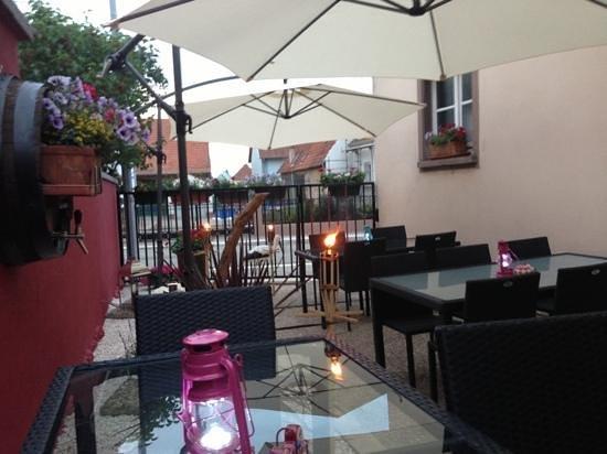Stammtisch : terrasse