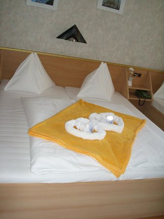 Hotel Franzenshof: La camera all'arrivo
