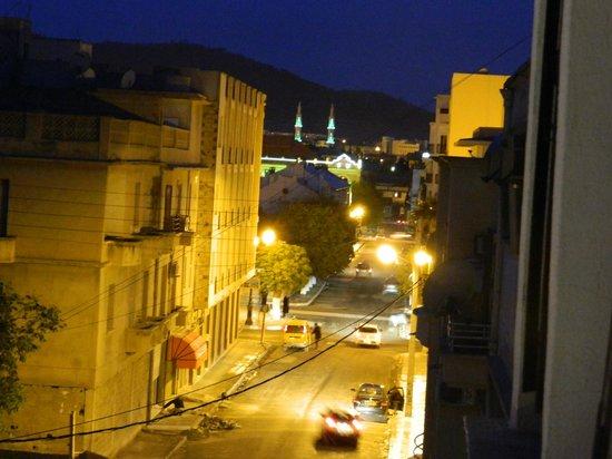 Hotel Hazem : View from the balcony