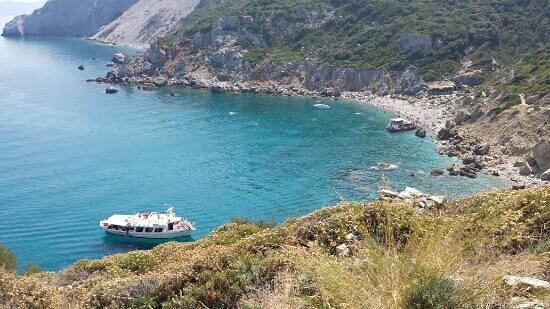 Beautiful Boat Tour Round Whole Of Skiathos Bild Von