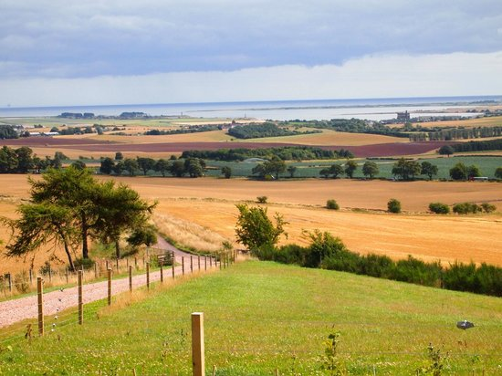 St Andrews Country Lodges: views from cabin