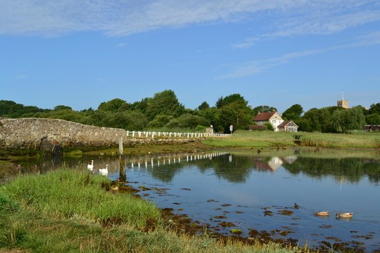 The Really Green Holiday Company: The Causeway, just a few minutes walk from the site