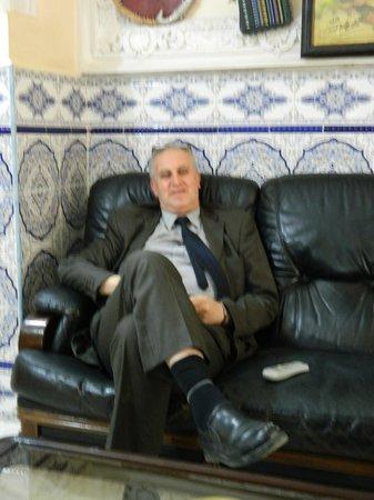 Hotel Hazem : MR.Hazem (Owner)
