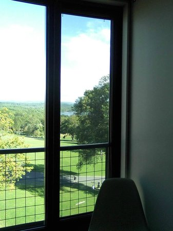 Kripalu Center for Yoga & Health: view from my room - 6th floor annex bldg