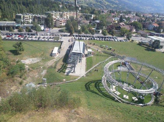Lienzer Bergbahnen/ Osttirodler Alpine Coaster: discesa degli slittini