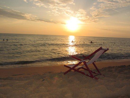Residence Perla Bianca: tramonto fantastico